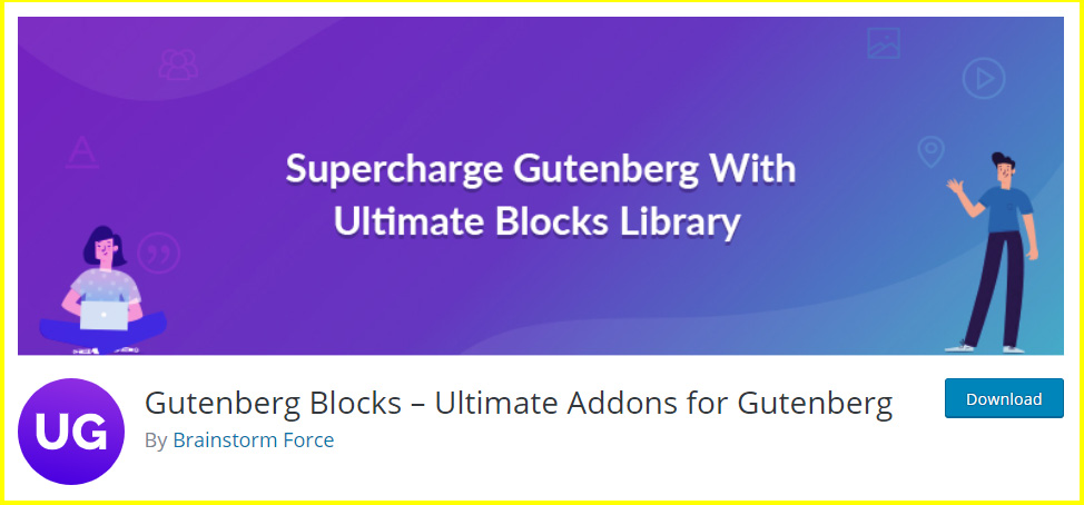 Ultimate Addons for Gutenberg Plugin